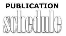 Health&Healing Publication Schedule